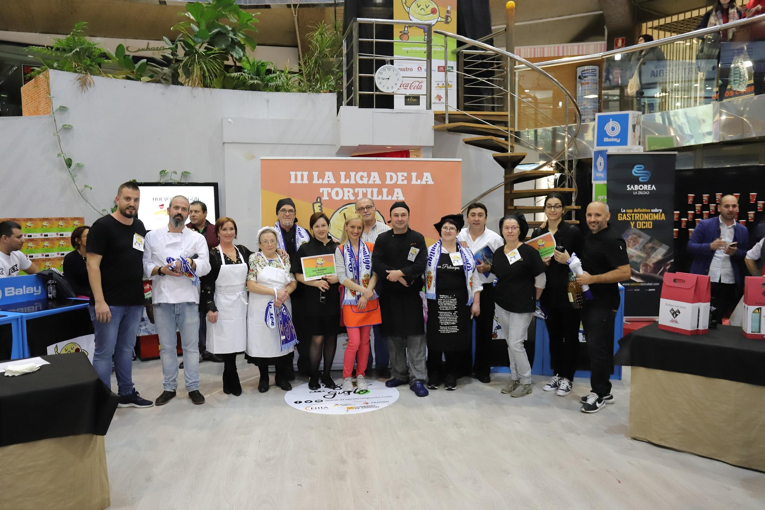 Casa Pascualillo ganala III edición de la Liga de la Tortilla en Zaragoza