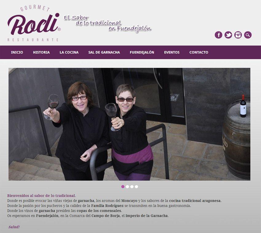 Desarrollo Web Restaurante Rodi